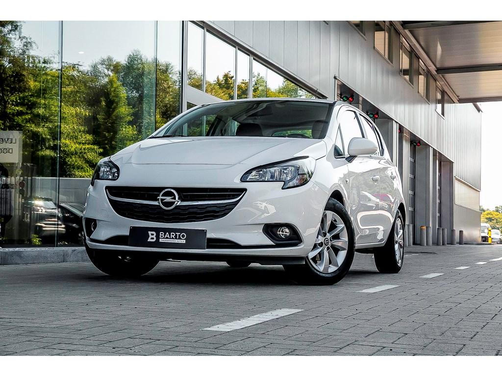 Opel-Corsa-Wit-12-Benz-Airco-Alu-Velgen-Bluetooth