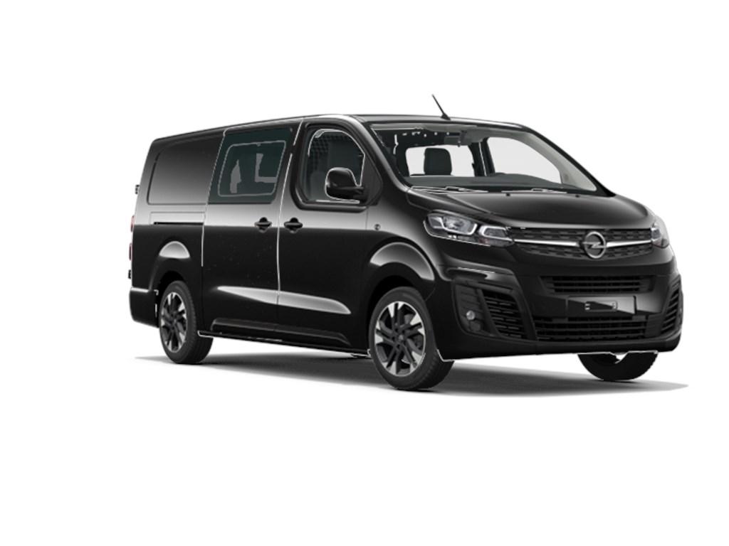 Opel-Vivaro-New-Zwart-Dubbele-Cabine-Innovation-L3H1-5pl-20-Turbo-D-Diesel-180pk-130kw-AT8-Nieuw