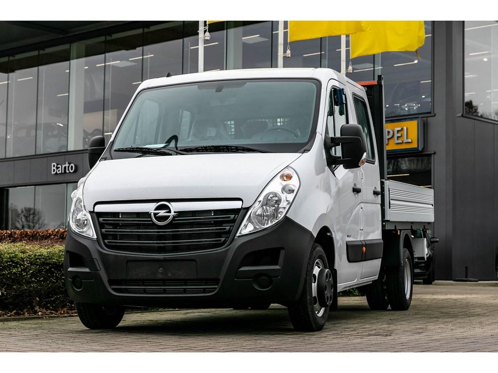 Tweedehands te koop: Opel Movano Wit - Open Laadbak Dubbele Cabine 23 CDTi Biturbo SS Manueel 6 - 163pk