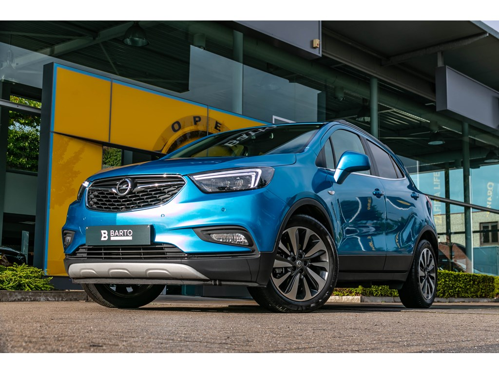 Tweedehands te koop: Opel Mokka Blauw - 14 TurboInnovationLederCameraTrekhaak