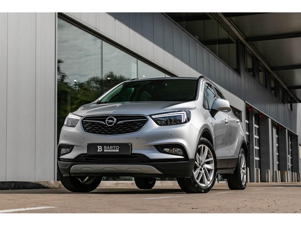 Tweedehands te koop: Opel Mokka Zilver - 16 Diesel Navi alu velgen Parkeersens