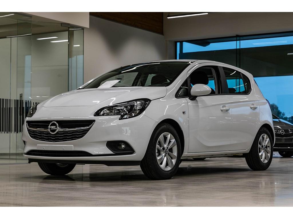 Tweedehands te koop: Opel Corsa Wit - 5-deurs Enjoy 12 Benz 70pk - Nieuw