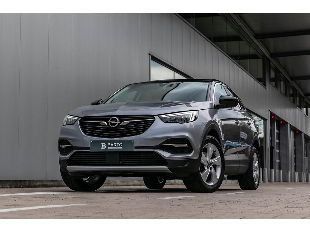 Tweedehands te koop: Opel Grandland X Grijs - 12 Benz 130pkInnovationElektr KofferDodeHoek