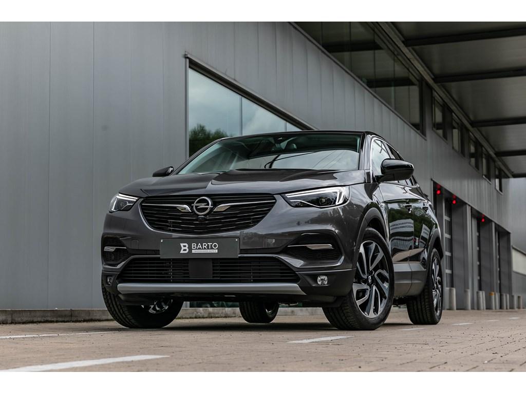 Tweedehands te koop: Opel Grandland X Anthraciet - 20D Autom 177pkLED360CameraDodehoek19
