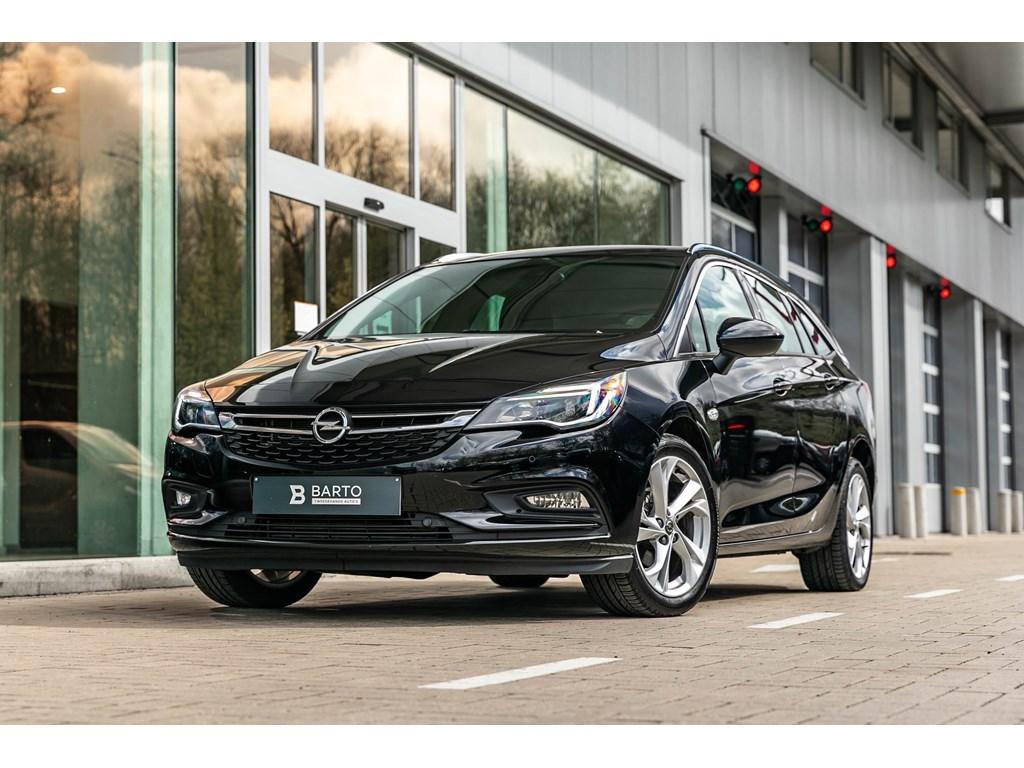 Tweedehands te koop: Opel Astra Zwart - 14T 125pkINNOVATIONnavialu velgen