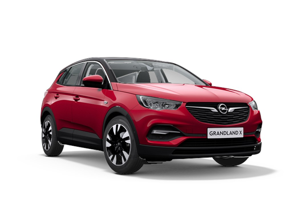 Tweedehands te koop: Opel Grandland X Rood - Innovation 12 Turbo benz Manueel 6 versnellingen StartStop - 130pk 96kw - Nieuw