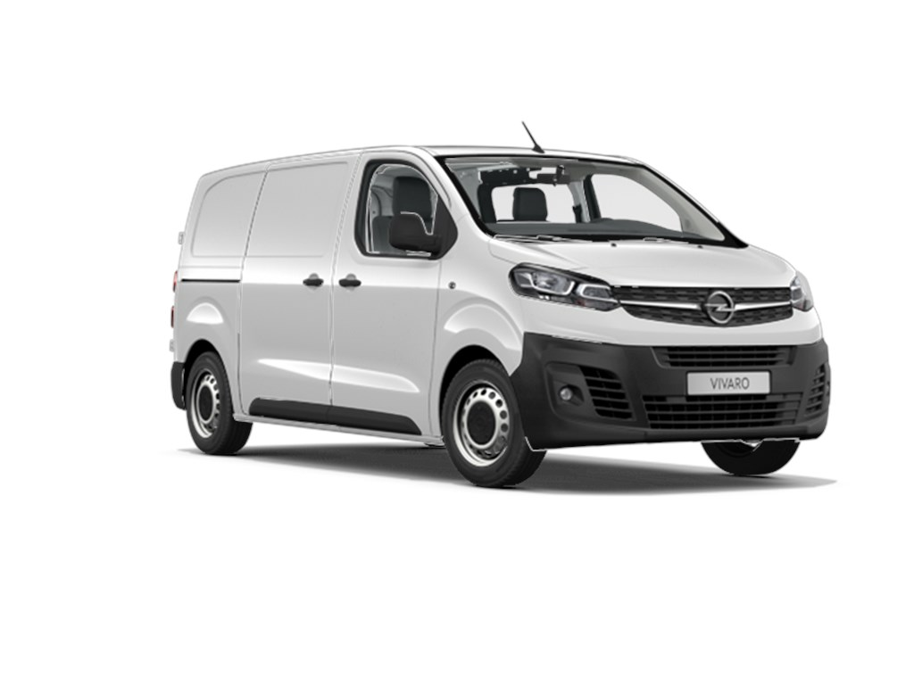 Tweedehands te koop: Opel Vivaro New Wit - Gesloten Bestelwagen L2H1 3pl 15 Turbo D Diesel 102pk 75kw MT6 - Nieuw