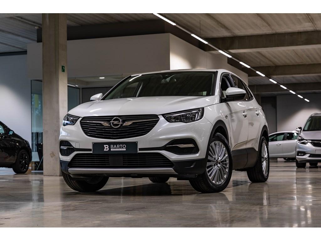 Tweedehands te koop: Opel Grandland X Wit - 16d InnovationNaviParkeersensOfflane