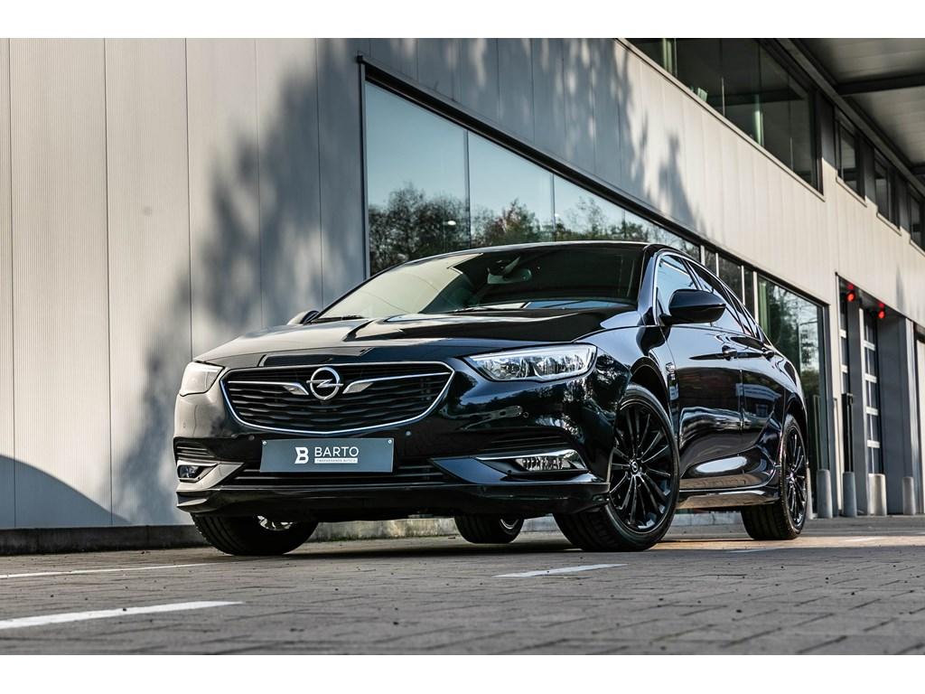 Tweedehands te koop: Opel Insignia Blauw - 15benzOPCline intextCameraDodehoeksensWegklapbare Trekhaak