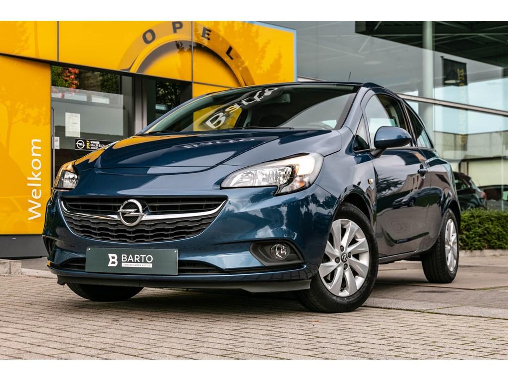Tweedehands te koop: Opel Corsa Blauw - 12benz 70pk - EnjoyAutoLichtenRegensensorAirco