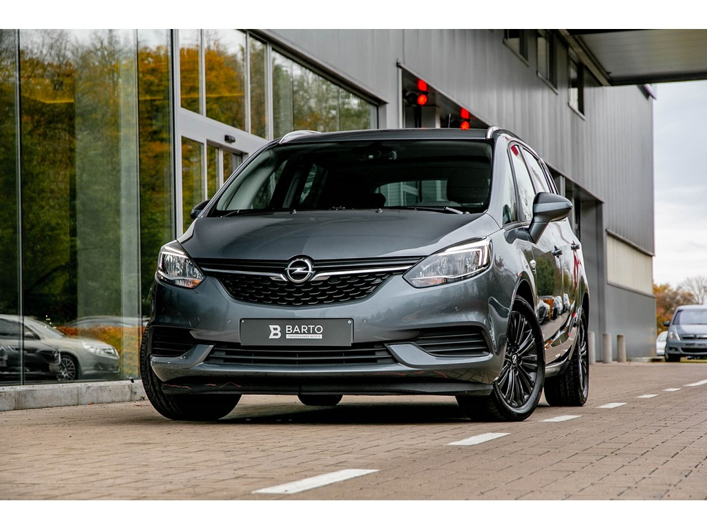 Opel-Zafira-Grijs-16T-Autom120Y-editie7-zitNavi-