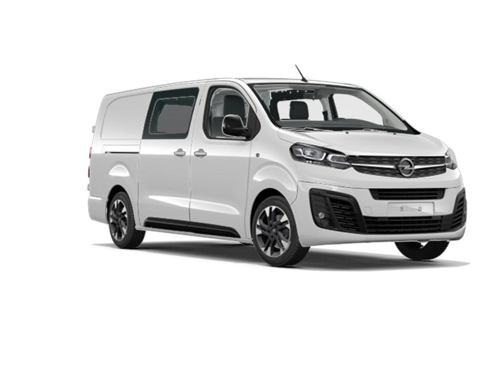 Tweedehands te koop: Opel Vivaro New Wit - Dubbele Cabine Edition L3H1 5pl 20 Turbo D Diesel 150pk 110kw Man 6 - Nieuw