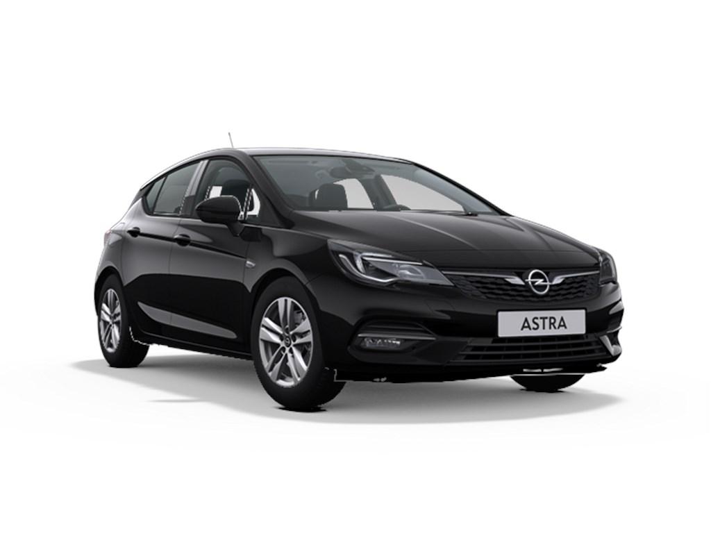 Tweedehands te koop: Opel Astra Zwart - 5-Deurs 12 Turbo Benz 130pk SS Manueel 6 - GS Line - Nieuw
