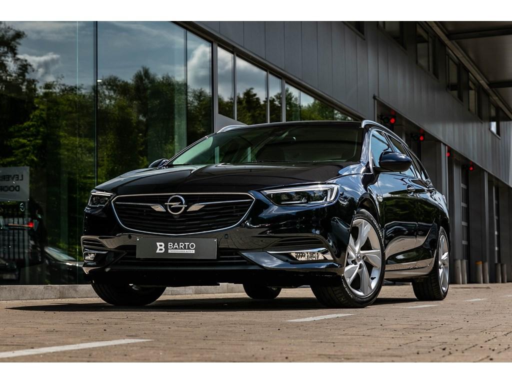 Tweedehands te koop: Opel Insignia Blauw - break15benzLederLedMatrixInnovation