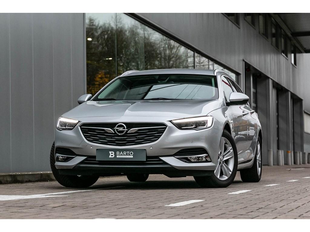 Tweedehands te koop: Opel Insignia Zilver - 15B 165pk - InnovationCameraElektr KofferLEDMatrix