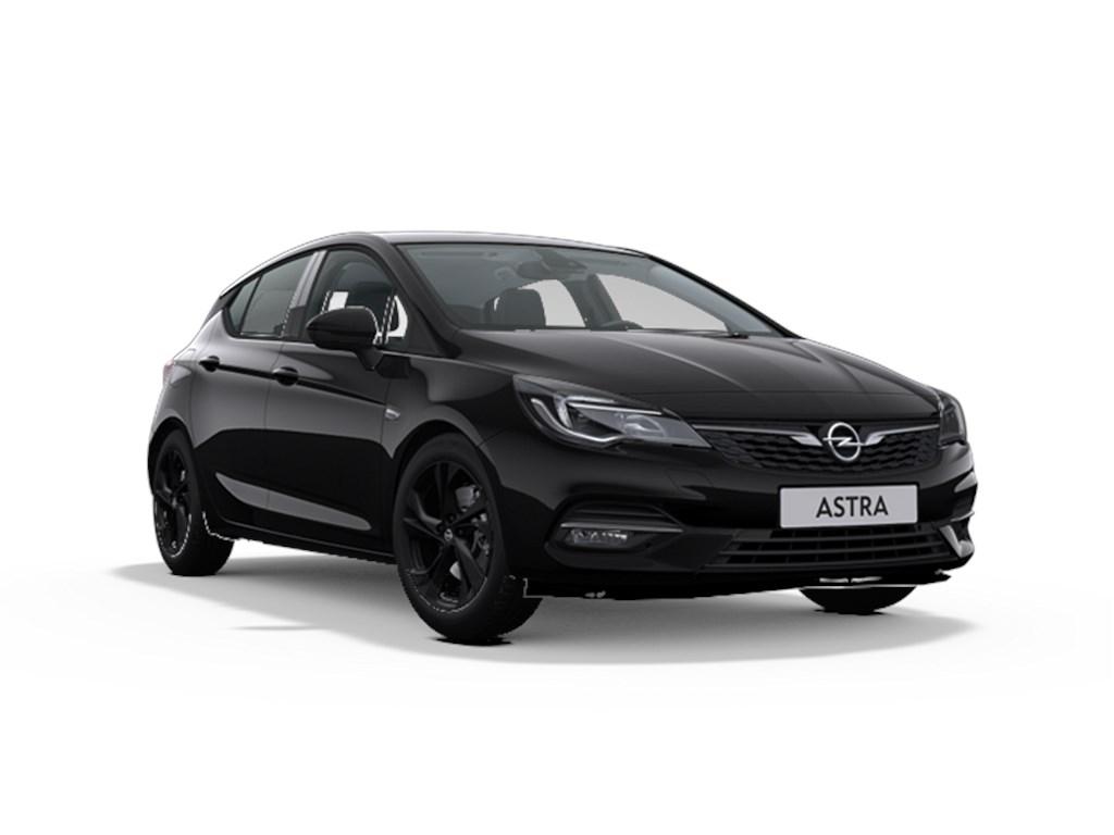 Tweedehands te koop: Opel Astra Zwart - 5-Deurs 12 Turbo Benz 110pk SS Manueel 6 - Ultimate - Nieuw