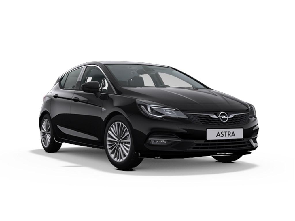 Tweedehands te koop: Opel Astra Zwart - 5-Deurs 15 Turbo D Diesel 105pk SS Manueel 6 - Elegance - Nieuw