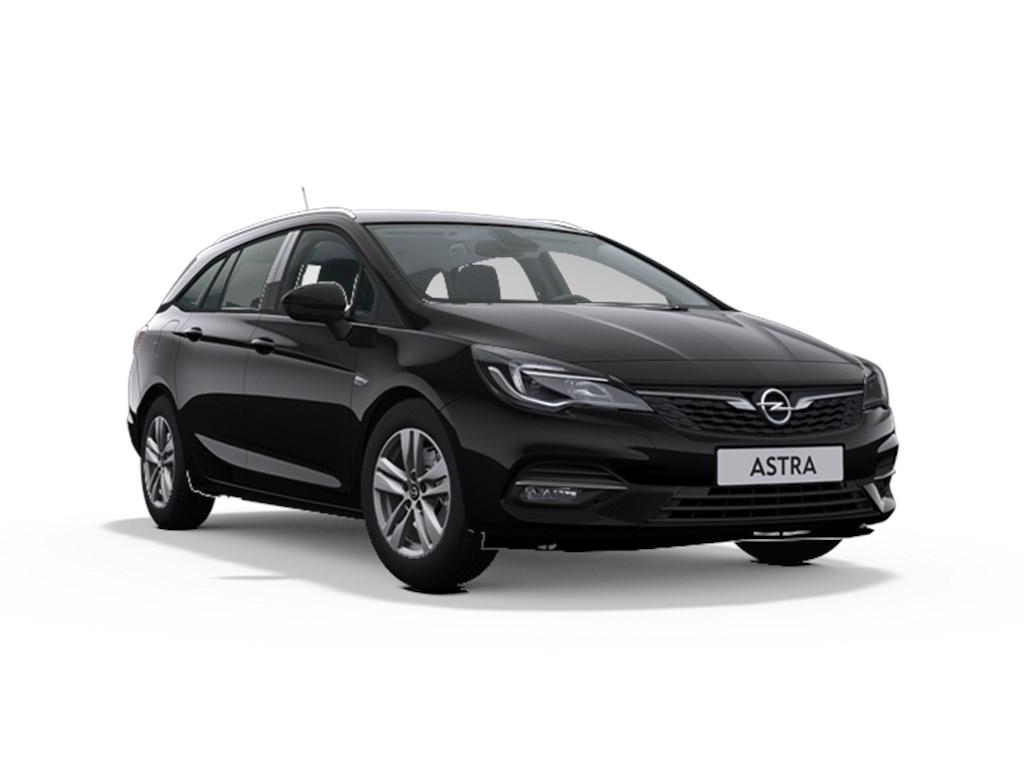 Tweedehands te koop: Opel Astra Zwart - Sports Tourer 15 Turbo D Diesel 105pk SS Manueel 6 - GS Line - Nieuw
