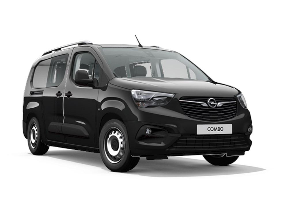 Tweedehands te koop: Opel Combo Zwart - Dubbele Cabine L2H1 12 Turbo benz Manueel 6 StartStop - 110pk 81kw - Nieuw