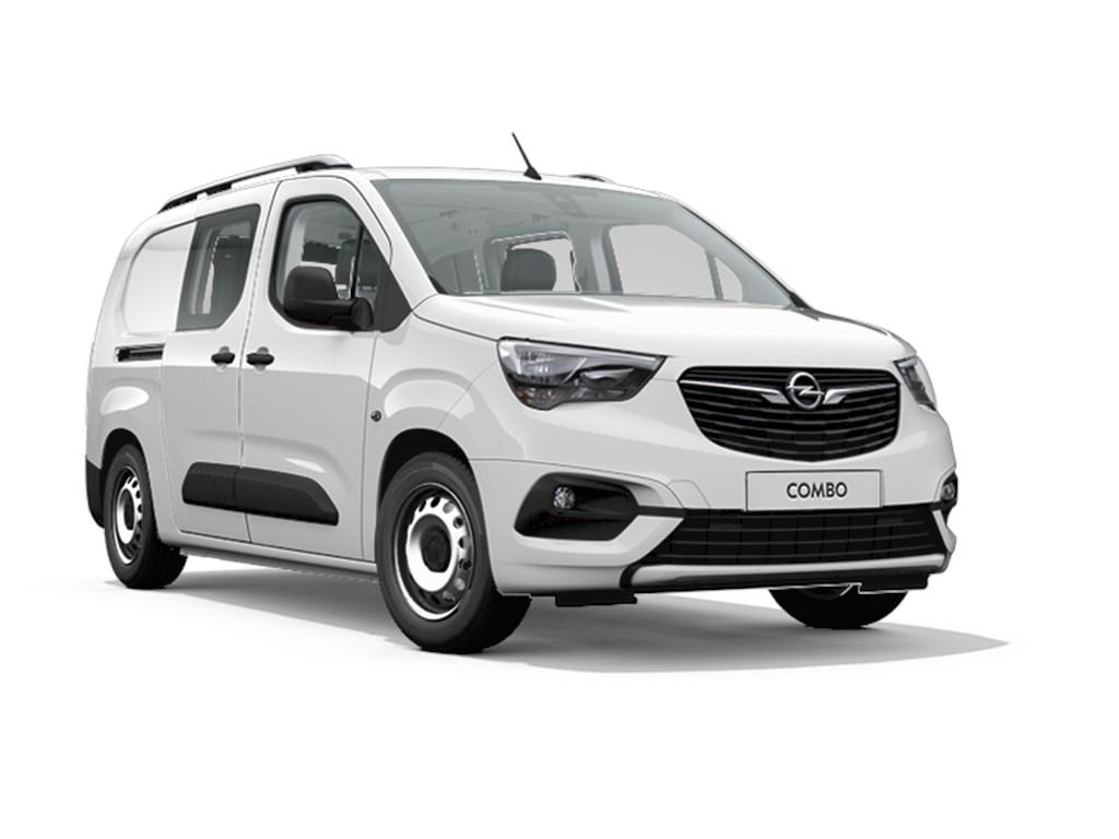 Opel-Combo-Wit-Dubbele-Cabine-L2H1-15-Turbo-D-Diesel-Manueel-6-StartStop-102pk-75kw-Nieuw