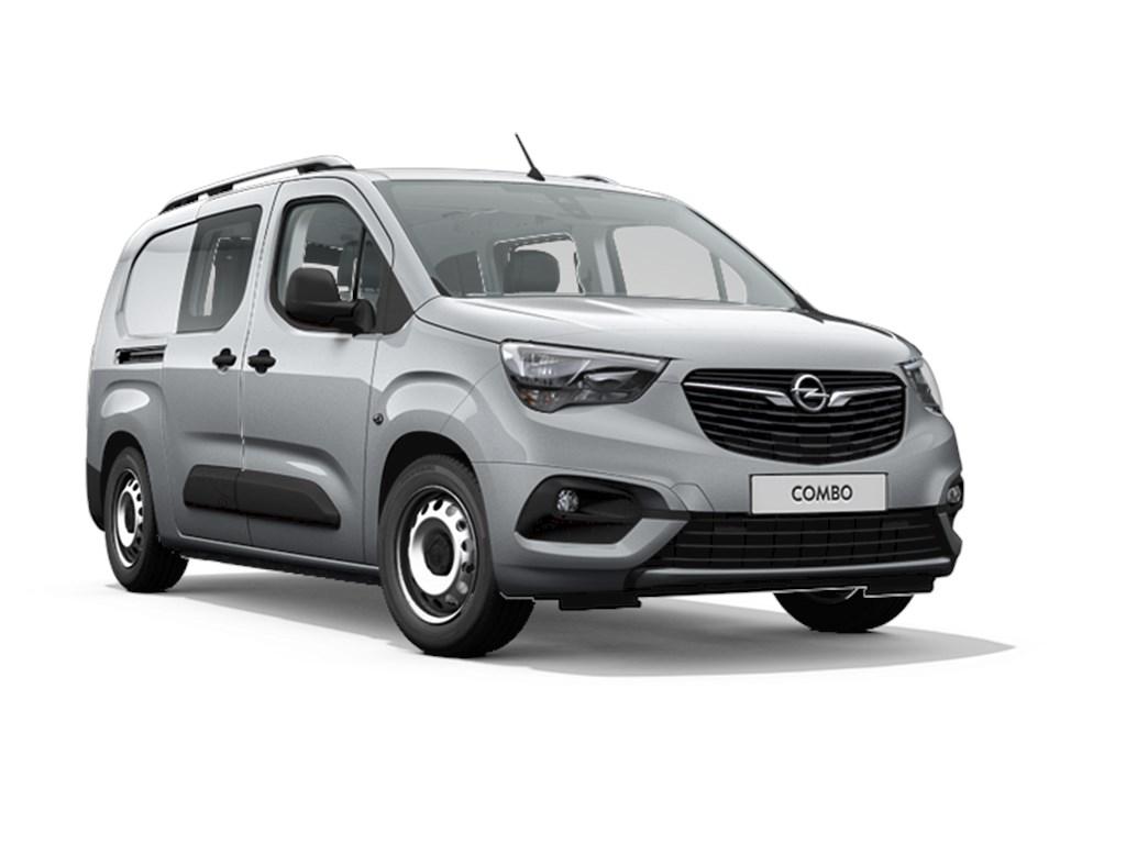 Tweedehands te koop: Opel Combo Grijs - Dubbele Cabine L2H1 15 Turbo D Diesel Manueel 6 StartStop - 102pk 75kw - Nieuw