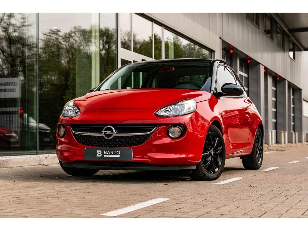 Tweedehands te koop: Opel ADAM Rood - 14B 90pk Black Pack Intellilink Parkeersensoren