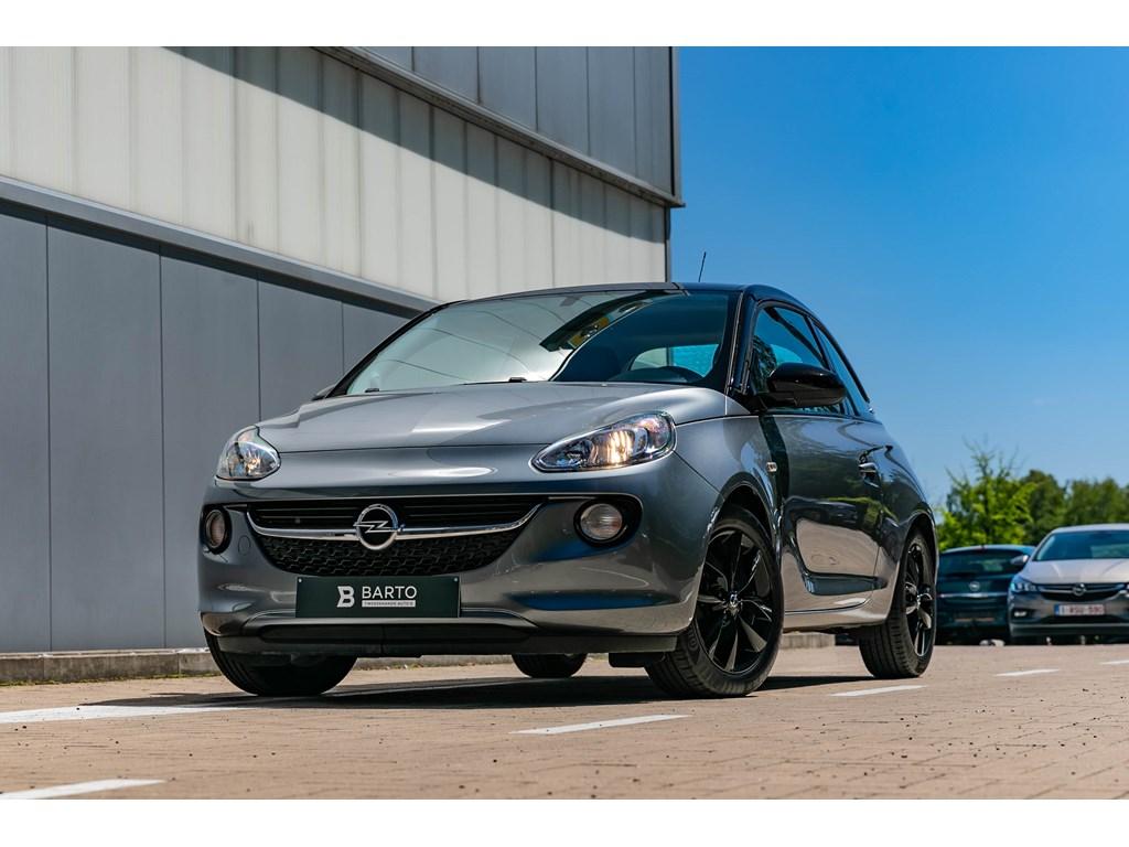 Tweedehands te koop: Opel ADAM Grijs - 12 benz Black Pack Intellilink Parkeersensoren