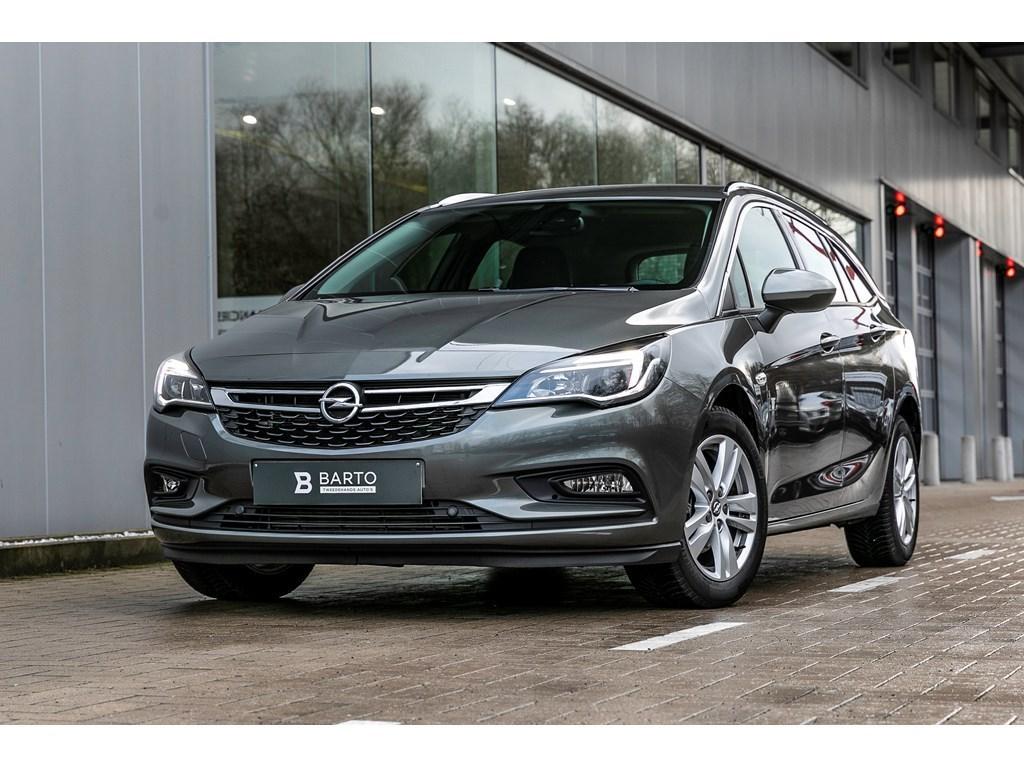 Tweedehands te koop: Opel Astra Grijs - Break 14T Benz Edition Navi Parkeersens Bluetooth