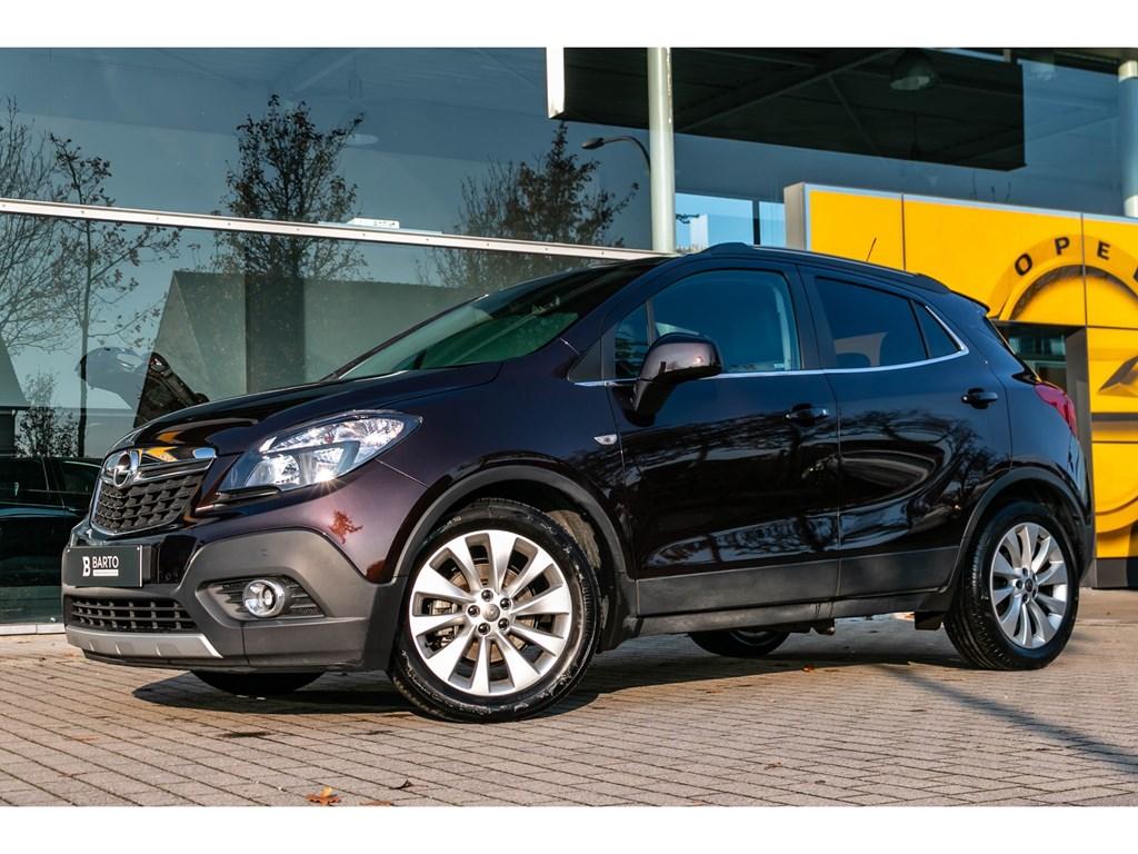 Tweedehands te koop: Opel Mokka Bruin - 14 TURBO CosmoLederCameraVerwarmde zetelsAuto Airco