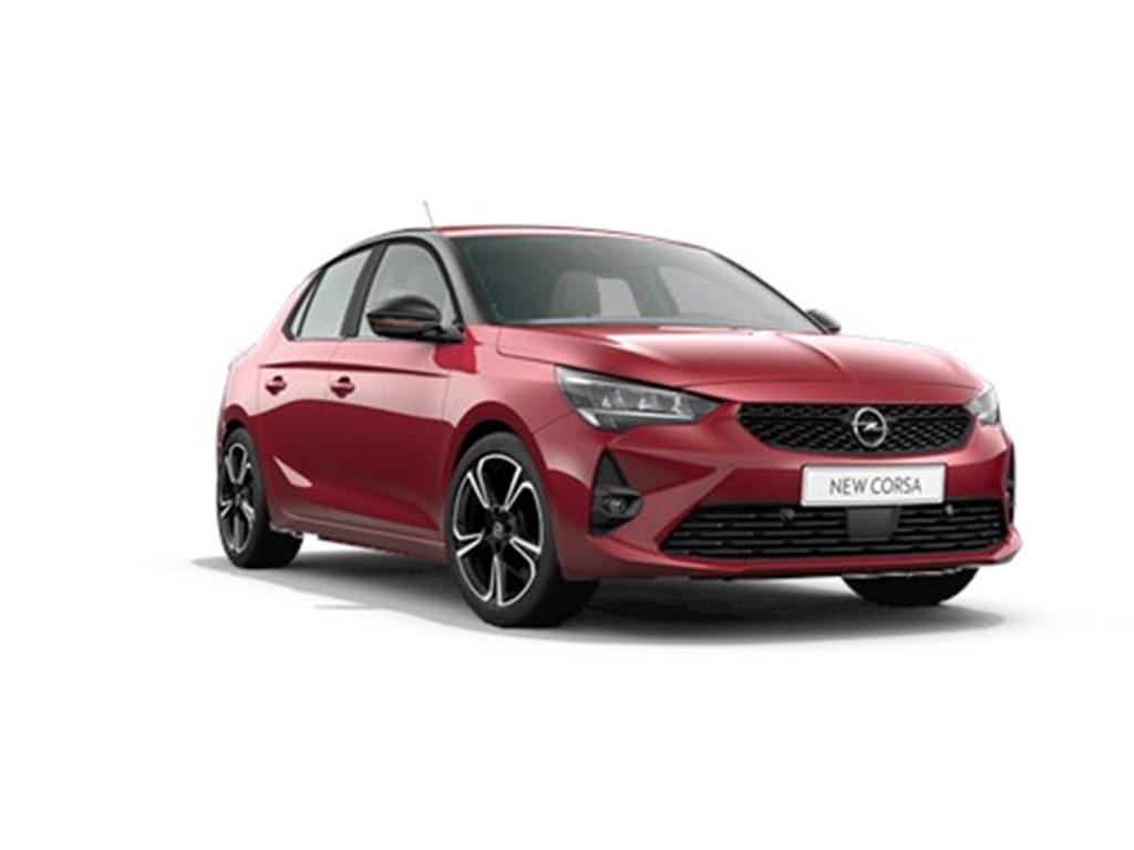 Tweedehands te koop: Opel Corsa Rood - 5-deurs GS Line 12 Benz Turbo 100pk Manueel 6 StartStop - Nieuw