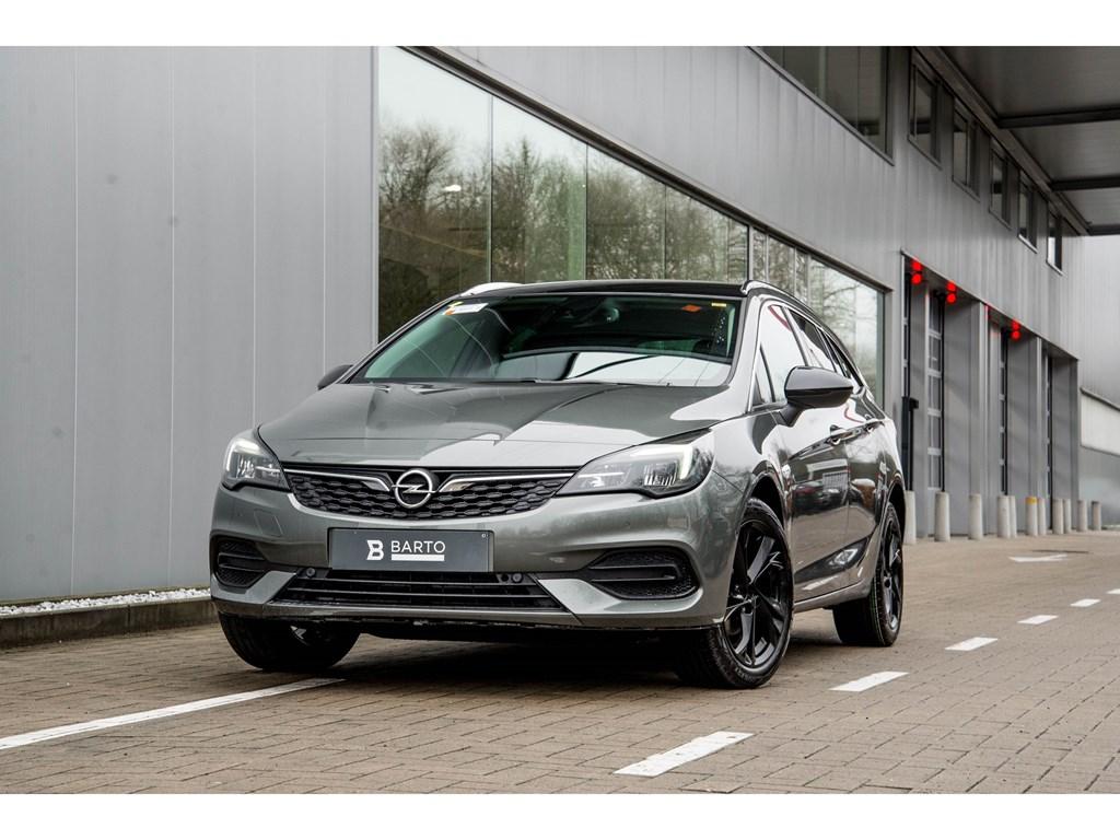 Opel-Astra-Grijs-Sports-Tourer-12-Turbo-Benz-110pk-SS-Manueel-6-Elegance-Nieuw
