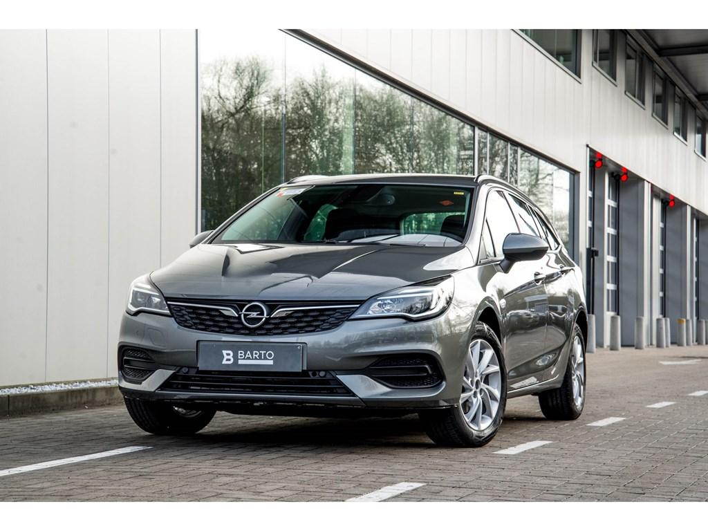 Tweedehands te koop: Opel Astra Grijs - Sports Tourer 12 Turbo 110pk SS Manueel 6 - Edition - Nieuw