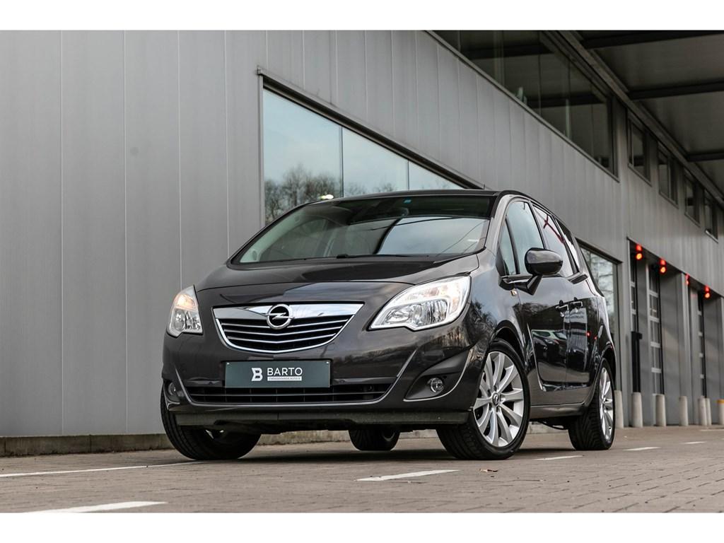Tweedehands te koop: Opel Meriva Grijs - 14T AutomaatCosmoNaviparkeersensAutoLichten