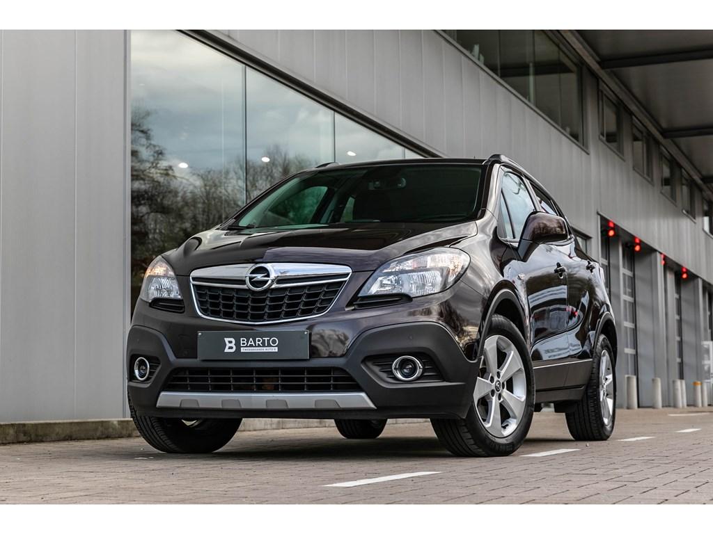 Tweedehands te koop: Opel Mokka Bruin - 16 benzNaviAircoParkeersensAfn Trekhaak