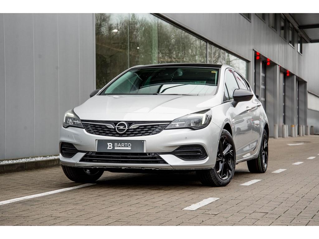 Tweedehands te koop: Opel Astra Zilver - 5-Deurs 14 Turbo Benz 145pk SS CVT 7 - Elegance - Nieuw