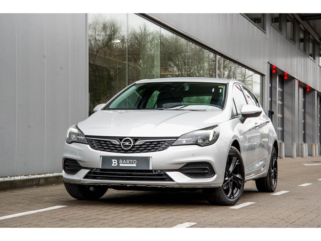 Tweedehands te koop: Opel Astra Zilver - 5-Deurs 15 Turbo D diesel 105pk SS Manueel 6 - Elegance - Nieuw