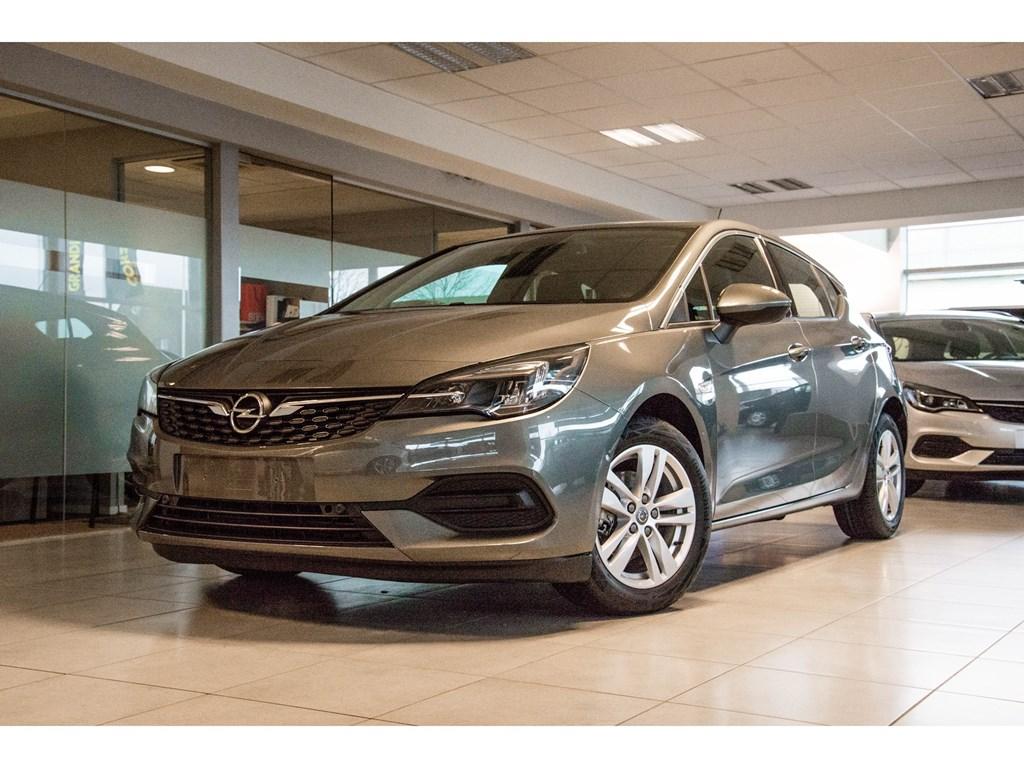Tweedehands te koop: Opel Astra Grijs - 5-Deurs 12 Turbo Benz 110pk SS Manueel 6 - Elegance - Nieuw