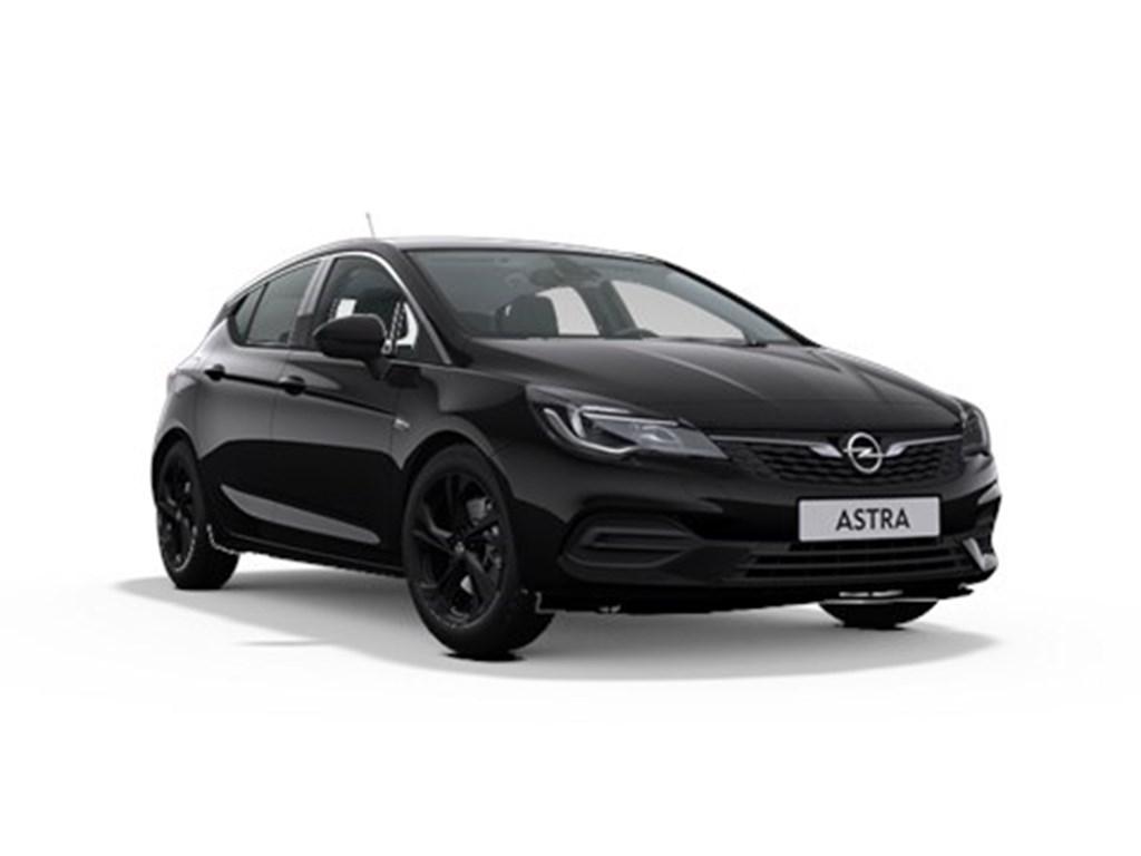 Tweedehands te koop: Opel Astra Zwart - 5-Deurs 12 Turbo Benz 110pk SS Manueel 6 - Elegance - Nieuw