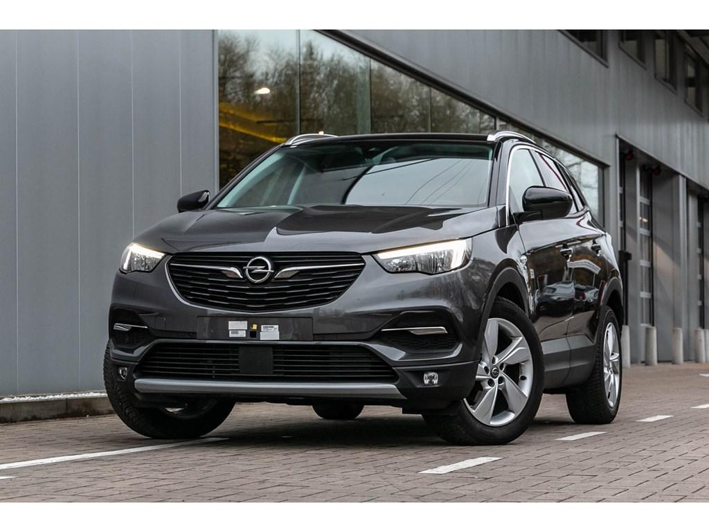 Tweedehands te koop: Opel Grandland X Grijs - 12b 130pkCameraNaviVerwarmde zetelsWeinig kms