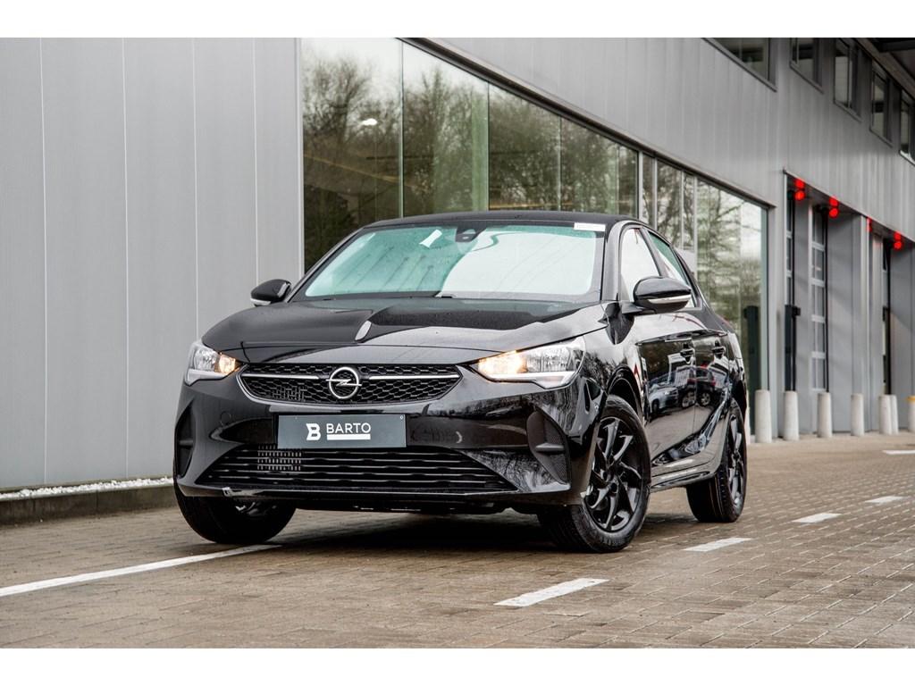 Tweedehands te koop: Opel Corsa Zwart - 5-deurs Edition 12 Benz 75pk - Nieuw