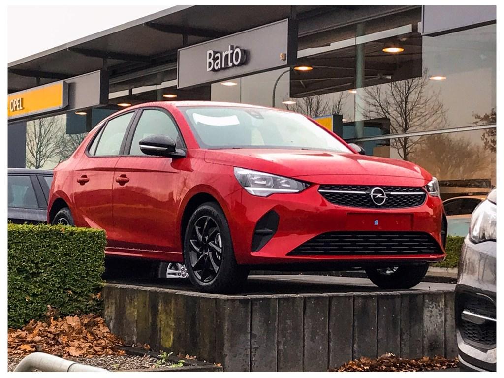 Tweedehands te koop: Opel Corsa Rood - 5-deurs Edition 12 Benz 75pk - Nieuw