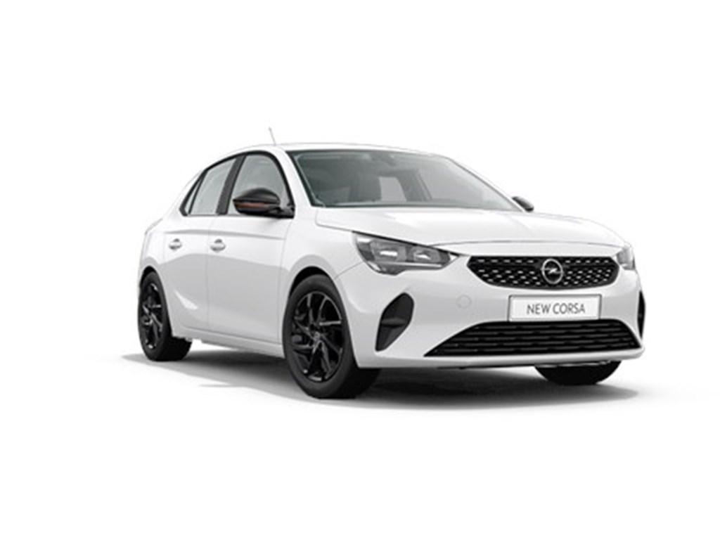 Tweedehands te koop: Opel Corsa Wit - 5-deurs Edition 12 Benz 75pk - Nieuw