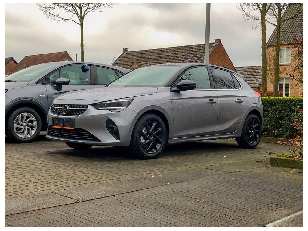 Tweedehands te koop: Opel Corsa Grijs - 5-deurs Elegance 12 Benz Turbo Automaat 8 StartStop - 100pk - Nieuw