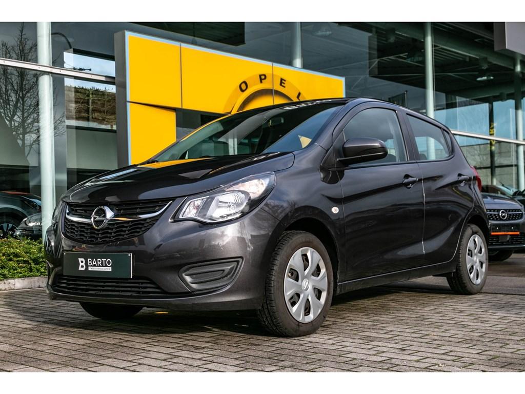 Tweedehands te koop: Opel KARL Grijs - 10 Benz 75pk Enjoy - Airco - Cruise Control