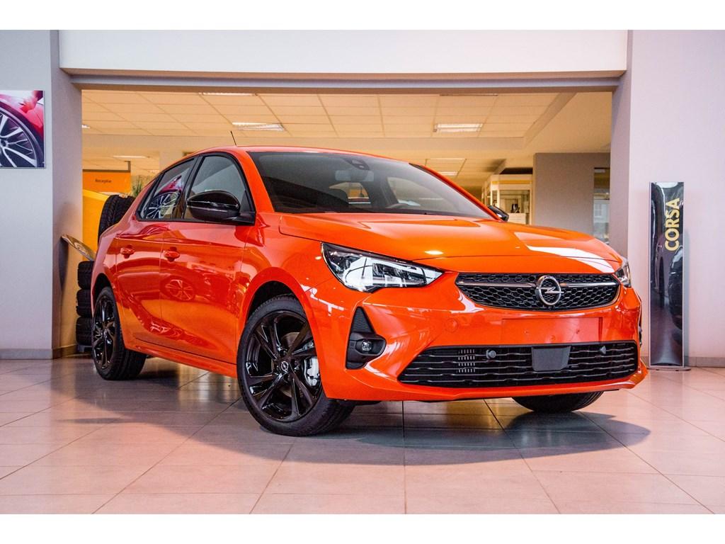 Tweedehands te koop: Opel Corsa Oranje - 5-deurs GS Line 15 Turbo D Manueel 6 StartStop 100pk - Nieuw