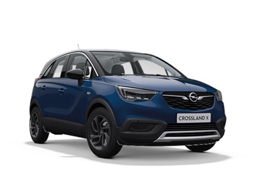 Tweedehands te koop: Opel Crossland X Blauw - 120 Years Edition 12 Turbo Benz Automaat 6 StartStop - 130pk 96kw - Nieuw