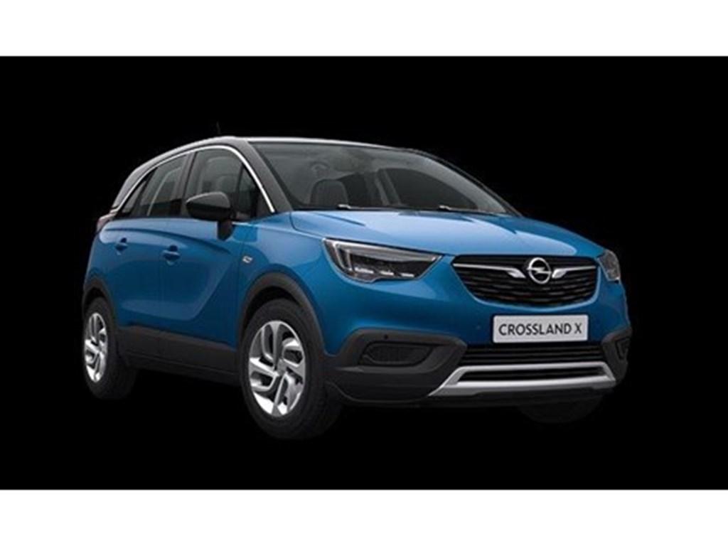 Tweedehands te koop: Opel Crossland X Blauw - Innovation 12 Turbo benz Manueel 6 versnellingen StartStop - 110pk 81kw - Nieuw