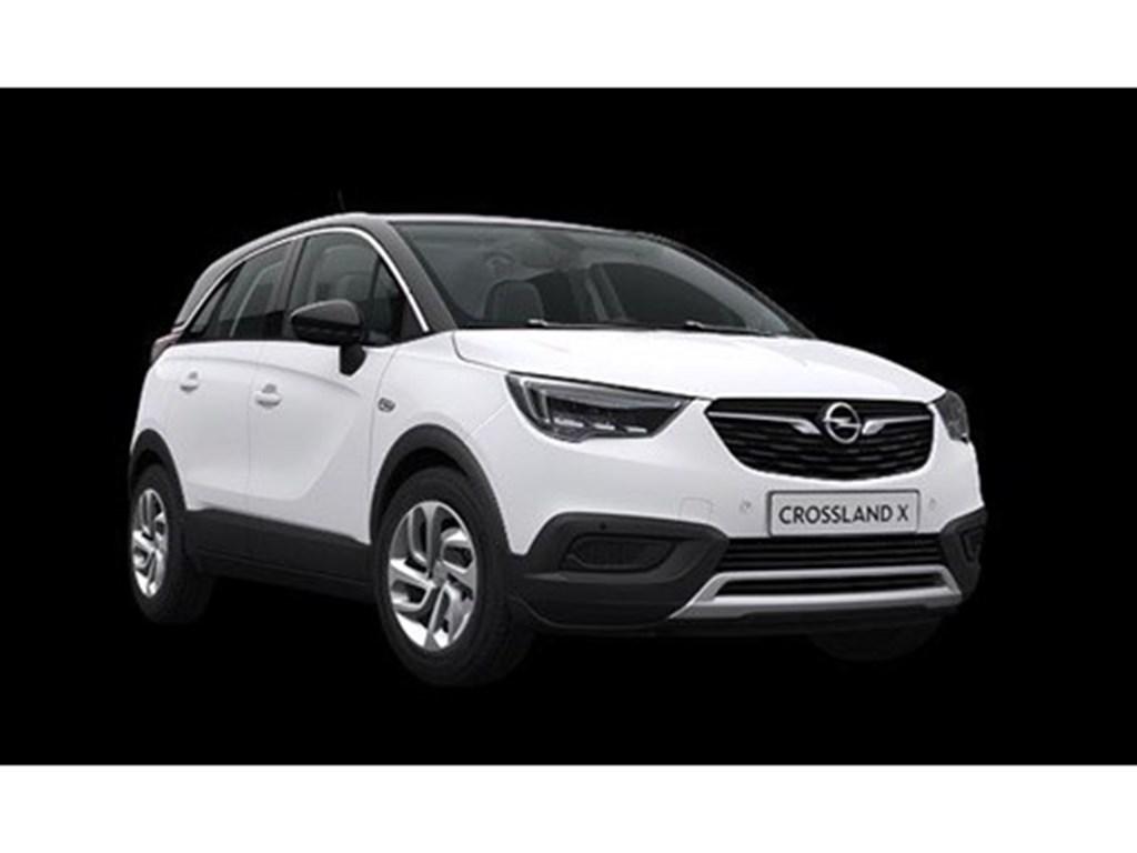 Tweedehands te koop: Opel Crossland X Wit - Innovation 12 Turbo benz Automaat 6 StartStop - 130pk 96kw - Nieuw