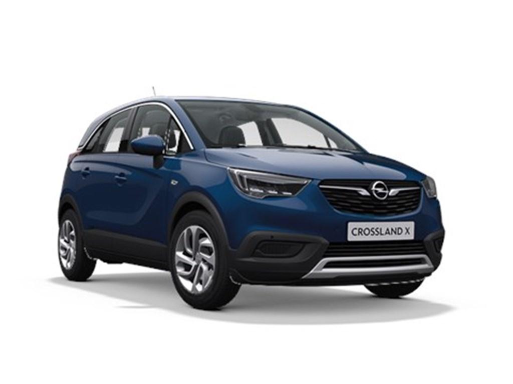 Tweedehands te koop: Opel Crossland X Blauw - Innovation 12 Turbo benz Automaat 6 StartStop - 130pk 96kw - Nieuw