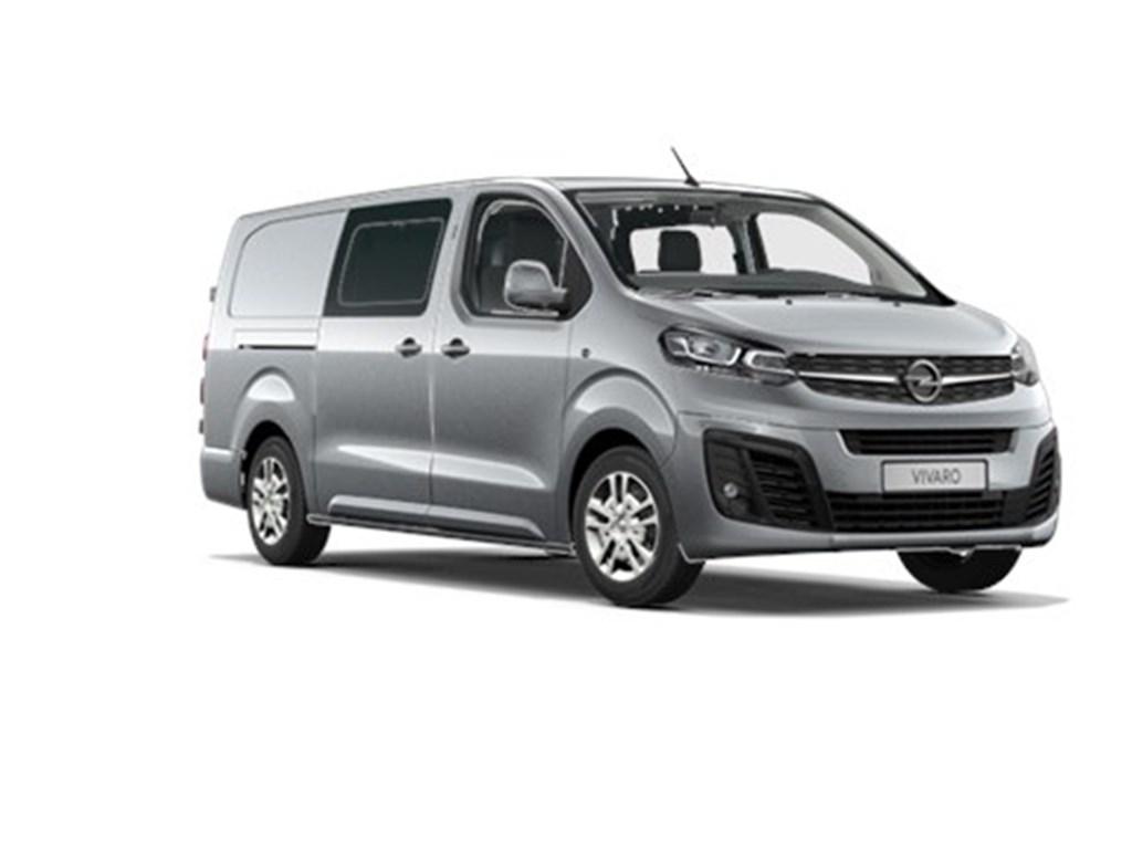 Tweedehands te koop: Opel Vivaro Grijs - Dubbele Cabine Edition L3H1 Verhoogd Laadvermogen 20 Turbo D 120pk - Navi - 6pl - Nieuw